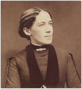 Clara Brown Eggleston, my great-grandmother, about 1875