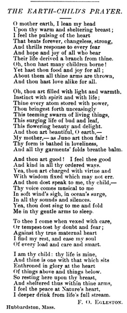 F.O. Eggleston poem in The Unitarian, September 1891.PNG