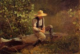 Winslow Homer The Whittling Boy