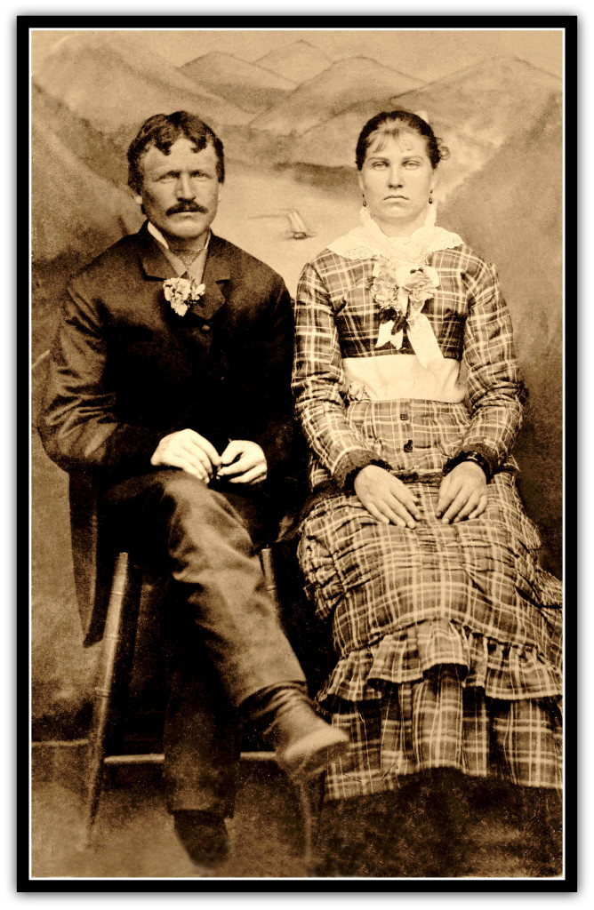 Mary M. Meadows and William Durret Collier wedding photo