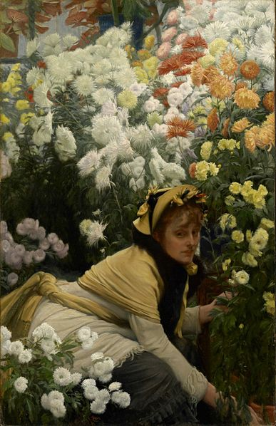 387px-James_Tissot_-_Chrysanthemums