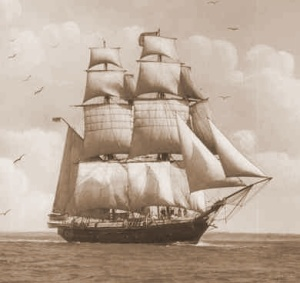 Ship Sally carrying Palatines
